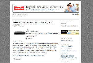 Digital Freeview Recorder Sales Website