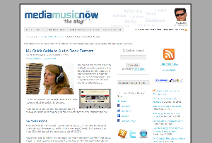 Media Music Now, the Blog