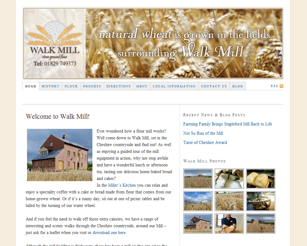 Walk Mill Flour & Visitor Attraction