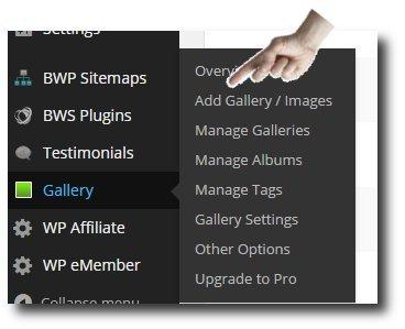 Gallery-adding