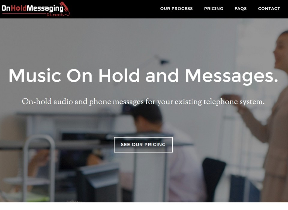 On Hold Messaging Direct: Website Development